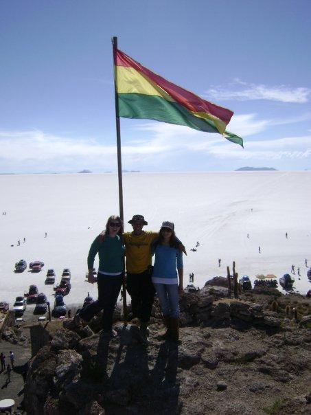 Salt flats of Uyuni